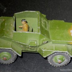 Coches a escala: SCOUT CAR DINKY TOYS CON CONDUCTOR REF. 673 MECCANO MADE IN ENGLAND. Lote 57038243