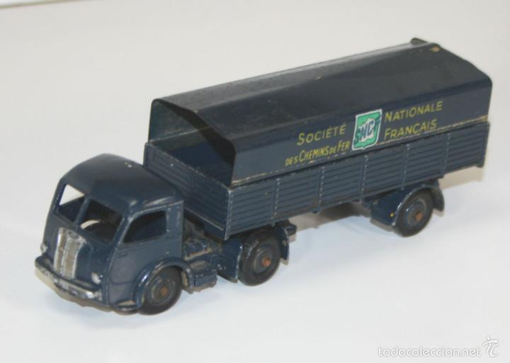 Coches a escala: TRACTEUR PANHARD SNCF EN METAL. DINKY TOYS. 1/43. REF 32 AB. MADE IN FRANCE. - Foto 1 - 57080552