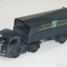 Coches a escala: TRACTEUR PANHARD SNCF EN METAL. DINKY TOYS. 1/43. REF 32 AB. MADE IN FRANCE.. Lote 57080552
