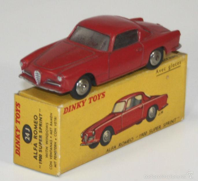 ALFA ROMEO 1900 SUPER SPRINT EN METAL. DINKY TOYS. 1/43. 24 J. MADE IN FRANCE. (Juguetes - Coches a Escala 1:43 Dinky Toys)