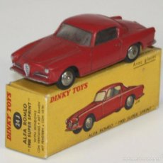 Coches a escala: ALFA ROMEO 1900 SUPER SPRINT EN METAL. DINKY TOYS. 1/43. 24 J. MADE IN FRANCE. . Lote 57085428