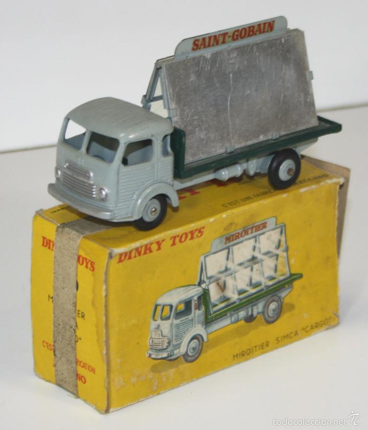 SIMCA CARGO MIROITIER EN METAL. DINKY TOYS. 1/43. 33 C. MADE IN FRANCE. 1950/60. (Juguetes - Coches a Escala 1:43 Dinky Toys)