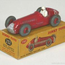 Coches a escala: ALFA ROMEO RACING CAR EN METAL. 1/43. 232. MADE IN ENGLAND. CIRCA 1950.. Lote 57088965
