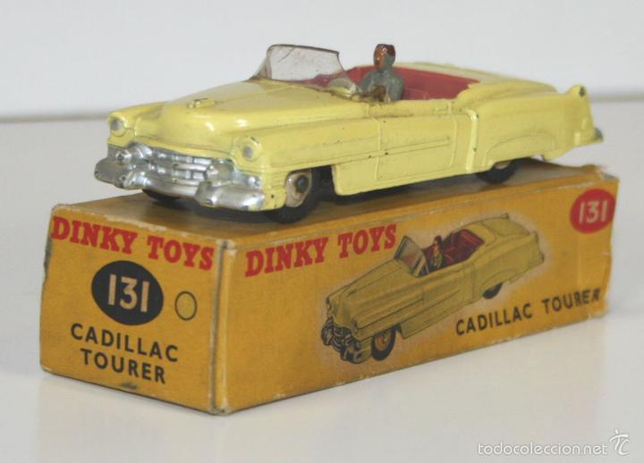 CADILLAC ELDORADO EN METAL. DINKI TOYS. 1/43. 131. MADE IN ENGLAND. CIRCA 1950. (Juguetes - Coches a Escala 1:43 Dinky Toys)