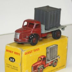 Coches a escala: BERLIET EN METAL. DINKY TOYS. 1/43. REF 34. MADE IN FRANCE. CIRCA 1950. . Lote 57104959