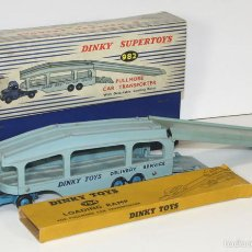 Coches a escala: PULLMORE CAR TRANSPORTER EN METAL. DINKY SUPERTOYS, 1/43. 982. MADE IN ENGLAND. . Lote 57145680