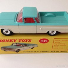 Coches a escala: CHEVROLET EL CAMINO PICK-UP TRUCK 449 DINKY TOYS. Lote 57516341
