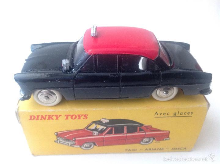 TAXI ARIANE SIMCA 542 DE DINKY TOYS (Juguetes - Coches a Escala 1:43 Dinky Toys)