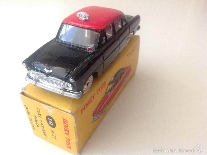 Coches a escala: Taxi Ariane Simca 542 de Dinky Toys - Foto 2 - 57629226