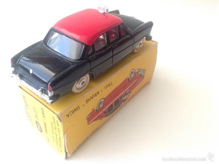 Coches a escala: Taxi Ariane Simca 542 de Dinky Toys - Foto 3 - 57629226