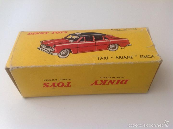 Coches a escala: Taxi Ariane Simca 542 de Dinky Toys - Foto 5 - 57629226