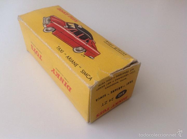 Coches a escala: Taxi Ariane Simca 542 de Dinky Toys - Foto 6 - 57629226