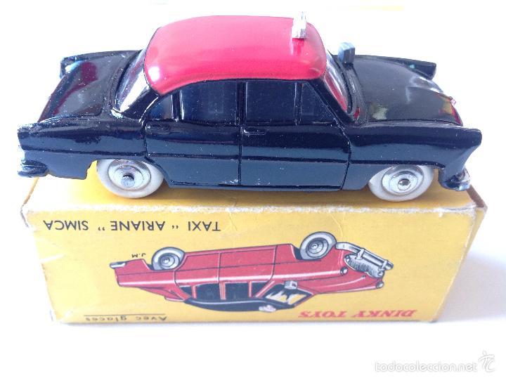 Coches a escala: Taxi Ariane Simca 542 de Dinky Toys - Foto 7 - 57629226