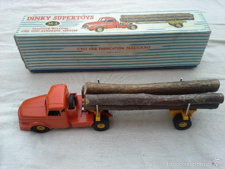 Coches a escala: CAMION TRACTOR WILLEME DINKY SUPERTOYS - Foto 5 - 58937920
