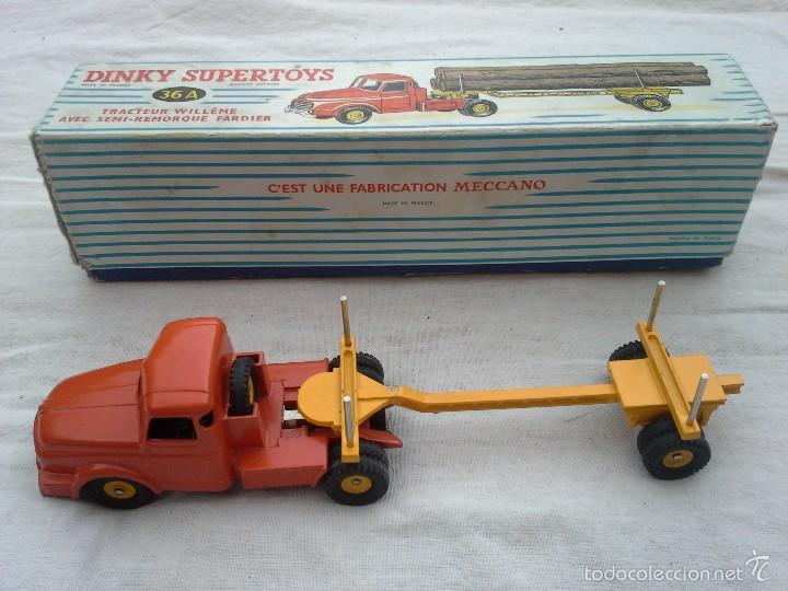 Coches a escala: CAMION TRACTOR WILLEME DINKY SUPERTOYS - Foto 6 - 58937920