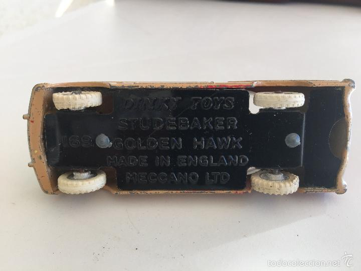 Coches a escala: DINKY TOYS STUDEBAKER GOLDEN HAWK ENGLAND - Foto 5 - 60725643