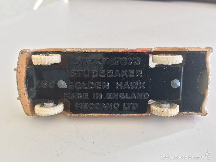 Coches a escala: DINKY TOYS STUDEBAKER GOLDEN HAWK ENGLAND - Foto 6 - 60725643