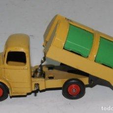 Carros em escala: COCHE DINKY TOYS, CAMION DE BASURA BEDFORD, FABRICADO POR MECCANO, MADE IN ENGLAND, VER TODAS LAS FO. Lote 62418896