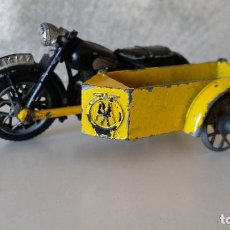 Coches a escala: DINKY TOYS MOTO CON SIDECAR. Lote 62705724