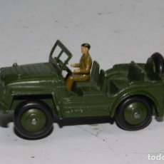 Coches a escala: COCHE JEEP DINKY TOYS, AUSTIN CHAMP, JEEP MILITAR, DINKY TOYS 674, MADE IN ENGLAND, JEEP INGLÉS VEHÍ. Lote 64443035