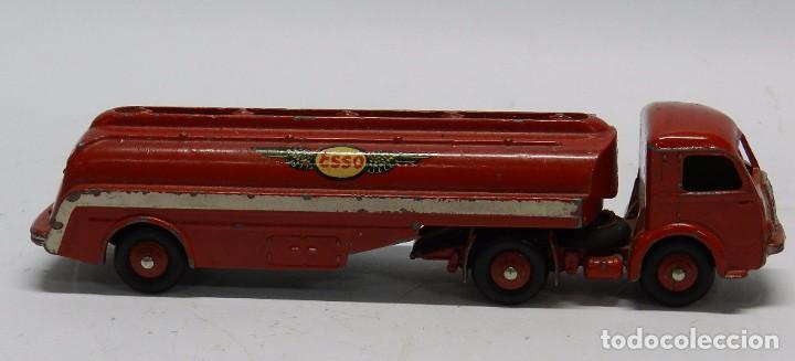 Coches a escala: Camión Cisterna, Tracteur Panhard, Esso Nº 32C, Dinky Toys, Made in France by Meccano, Mide 18 de la - Foto 3 - 64443823
