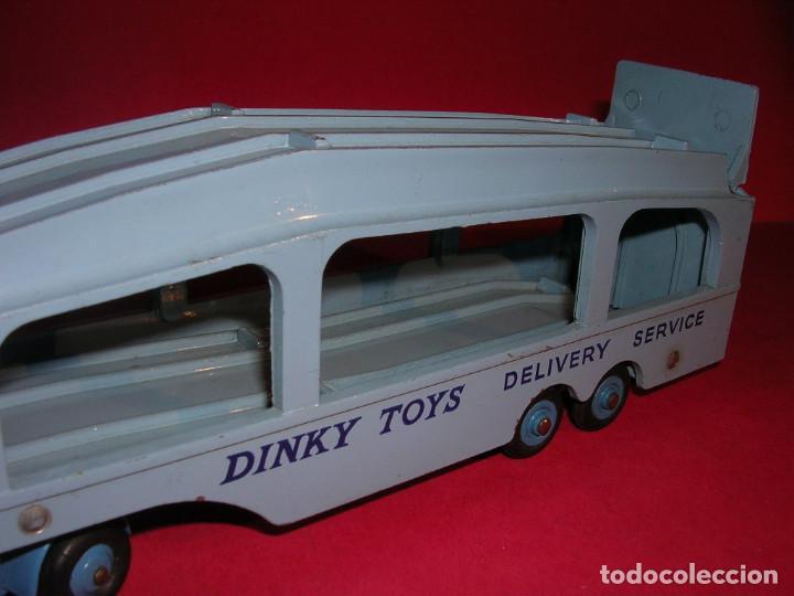 Coches a escala: DINKY 982 (1960) PULLMORE CAR TRANSPORTER + RAMPA DINKY 794 .CON CAJAS ORIGINALES - Foto 4 - 70105965