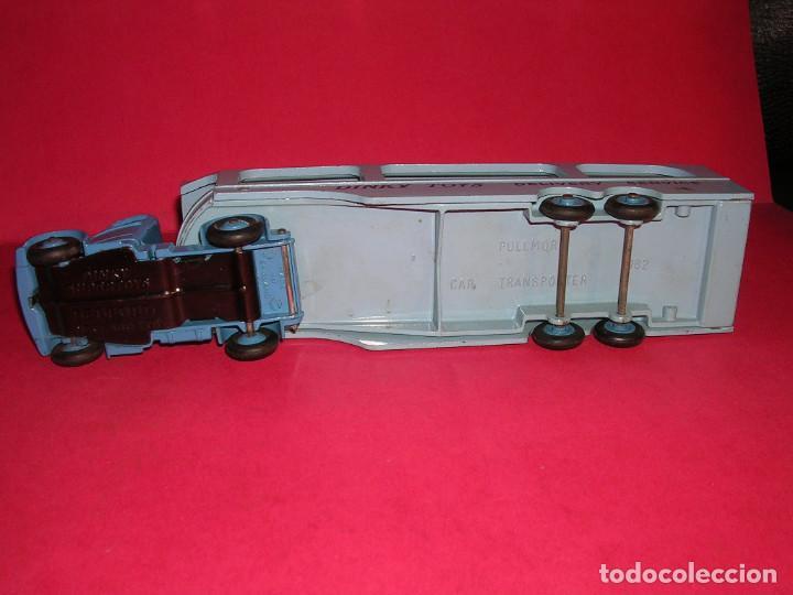 Coches a escala: DINKY 982 (1960) PULLMORE CAR TRANSPORTER + RAMPA DINKY 794 .CON CAJAS ORIGINALES - Foto 5 - 70105965