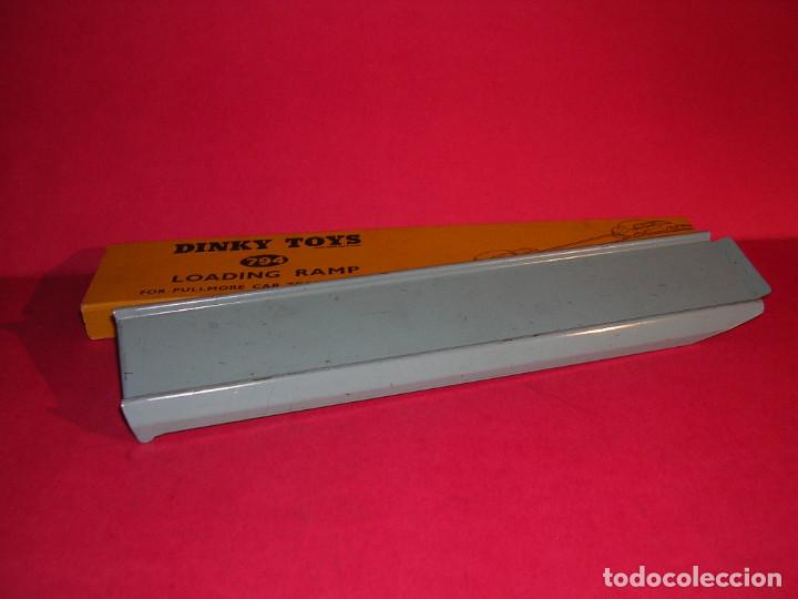 Coches a escala: DINKY 982 (1960) PULLMORE CAR TRANSPORTER + RAMPA DINKY 794 .CON CAJAS ORIGINALES - Foto 7 - 70105965