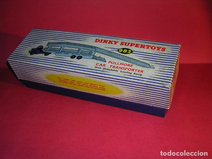 Coches a escala: DINKY 982 (1960) PULLMORE CAR TRANSPORTER + RAMPA DINKY 794 .CON CAJAS ORIGINALES - Foto 11 - 70105965