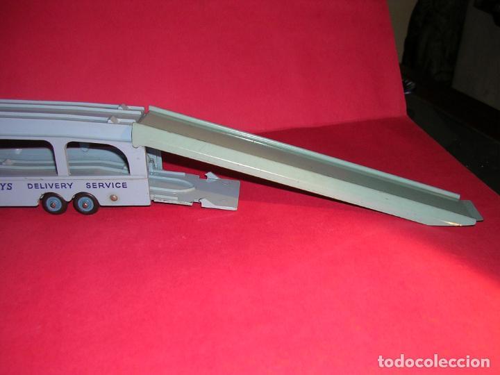 Coches a escala: DINKY 982 (1960) PULLMORE CAR TRANSPORTER + RAMPA DINKY 794 .CON CAJAS ORIGINALES - Foto 12 - 70105965