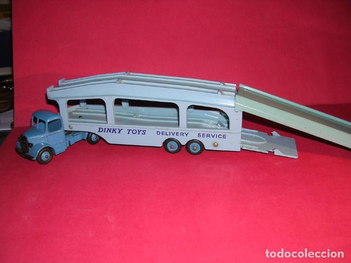 Coches a escala: DINKY 982 (1960) PULLMORE CAR TRANSPORTER + RAMPA DINKY 794 .CON CAJAS ORIGINALES - Foto 14 - 70105965