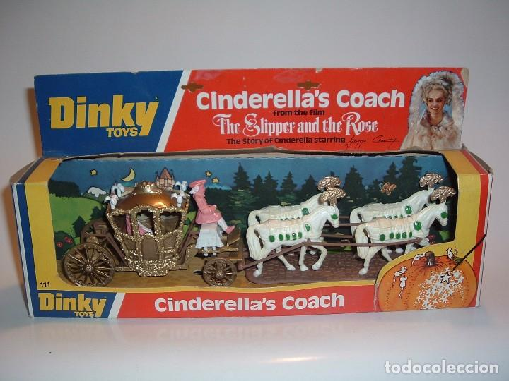 DINKY TOYS, CINDERELLA'S COACH, REF. 111 (Juguetes - Coches a Escala 1:43 Dinky Toys)
