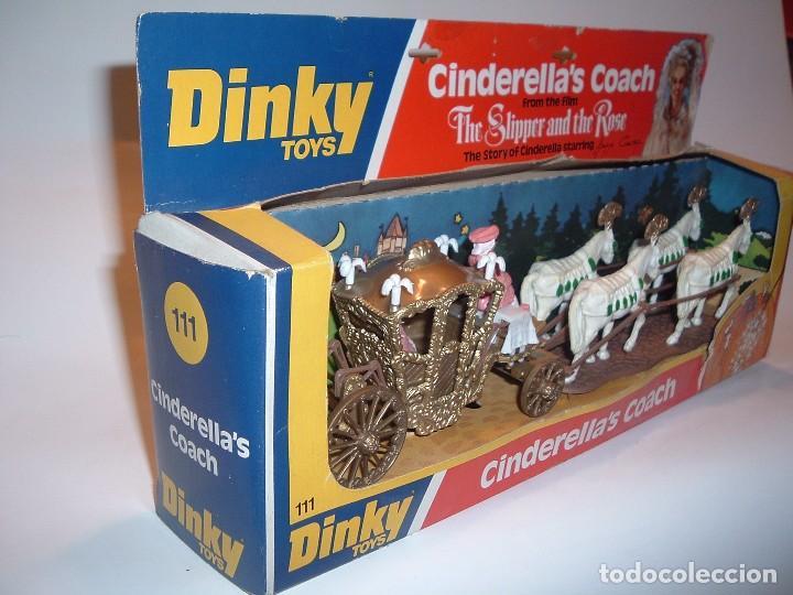 Coches a escala: DINKY TOYS, CINDERELLA'S COACH, REF. 111 - Foto 3 - 75125575