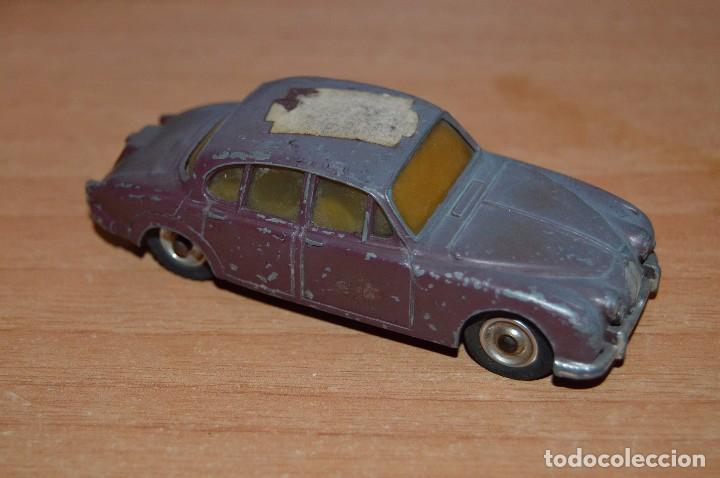 DINKY TOYS - JAGUAR 3.4 LITRE - 195 - ESCALA 1/43 - MADE IN ENGLAND BY MECCANO LTD - DIE CAST (Juguetes - Coches a Escala 1:43 Dinky Toys)