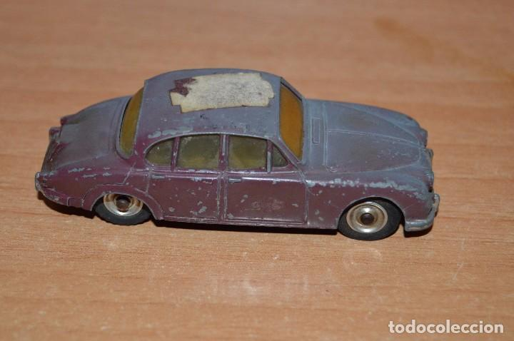 Coches a escala: DINKY TOYS - JAGUAR 3.4 LITRE - 195 - ESCALA 1/43 - MADE IN ENGLAND BY MECCANO LTD - DIE CAST - Foto 2 - 75424311