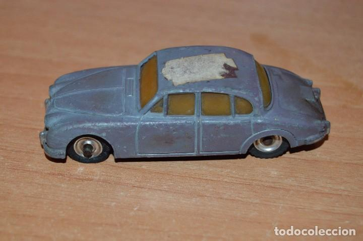 Coches a escala: DINKY TOYS - JAGUAR 3.4 LITRE - 195 - ESCALA 1/43 - MADE IN ENGLAND BY MECCANO LTD - DIE CAST - Foto 3 - 75424311