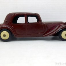 Coches a escala: 1005 DINKY TOYS ORIGINAL COCHE CITROEN 11BL RED MODEL CAR FRANCE 24N MECCANO. Lote 76293363