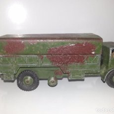 Coches a escala: DINKY SUPERTOYS ANTIGUO CAMION MILITAR 10 TON ARMY TRUCK Nº 622 MADE IN ENGLAND MECCANO LTD AÑOS 50. Lote 76580827