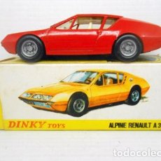 Coches a escala: COCHE RENAULT ALPINE A 310 FABRICADOPOR DINKY TOYS MECCANO METAL MODEL CAR 1411. Lote 76697019