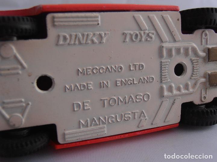 Coches a escala: COCHE DE TOMASO MANGUSTA 1/43 AÑOS 70 DINKY TOYS MADE IN ENGLAND - Foto 4 - 82696300
