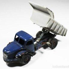 Model Cars - CAMION VOLQUETE BERLIET DINKY TOYS MECCANO Nº 34, FUNCIONA LA MANIVELA - 85151088