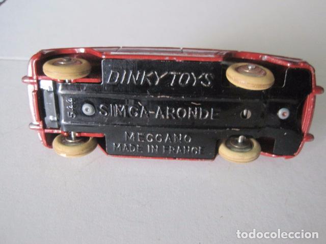 Coches a escala: COCHE - DINKY TOYS - FRANCE MECCANO - ANTIGUO - SIMCA ARONDE -VER FOTOS -(V-10.858) - Foto 7 - 85637684