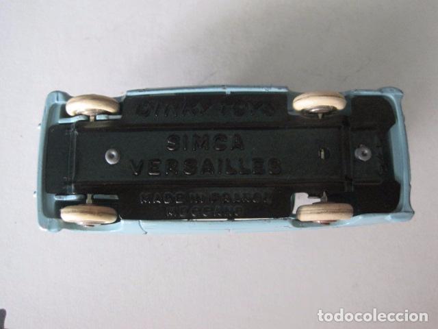Coches a escala: COCHE - DINKY TOYS - FRANCE MECCANO - ANTIGUO - SIMCA VERSAILLES -VER FOTOS -(V-10.859) - Foto 6 - 85637876