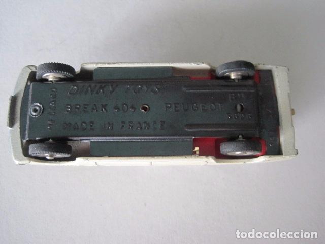 Coches a escala: COCHE - DINKY TOYS - FRANCE MECCANO - ANTIGUO - PEUGEOT BREAK 404 -VER FOTOS -(V-10.860) - Foto 10 - 85638112