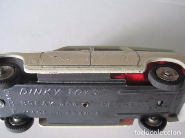 Coches a escala: COCHE - DINKY TOYS - FRANCE MECCANO - ANTIGUO - PEUGEOT BREAK 404 -VER FOTOS -(V-10.860) - Foto 11 - 85638112