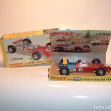 Coches a escala: DINKY TOYS, LOTUS F1 RACING CAR, REF. 225. Lote 87064180
