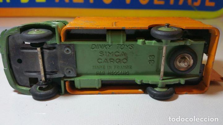 Coches a escala: DINKY TOYS MECCANO SIMCA CARGO 33 - Foto 6 - 88993824
