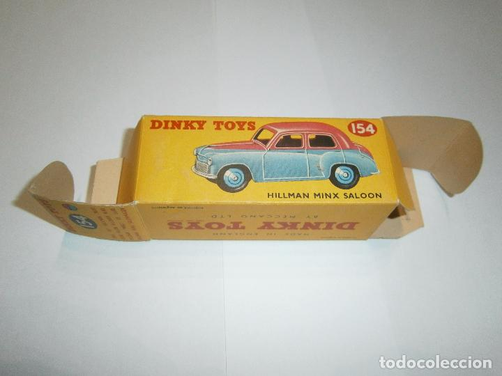 Coches a escala: HILLMAN MINX SALOON, DE DINKY TOYS, REF. 154-G, ORIGINAL 1954, MINT IN BOX. - Foto 15 - 38407127