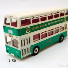Coches a escala: DINKY TOIS MECANO LTD REF 292 - 1/50 APROX - BUS LEYLAND ATLANTEAN BP Nº 133. Lote 93630400