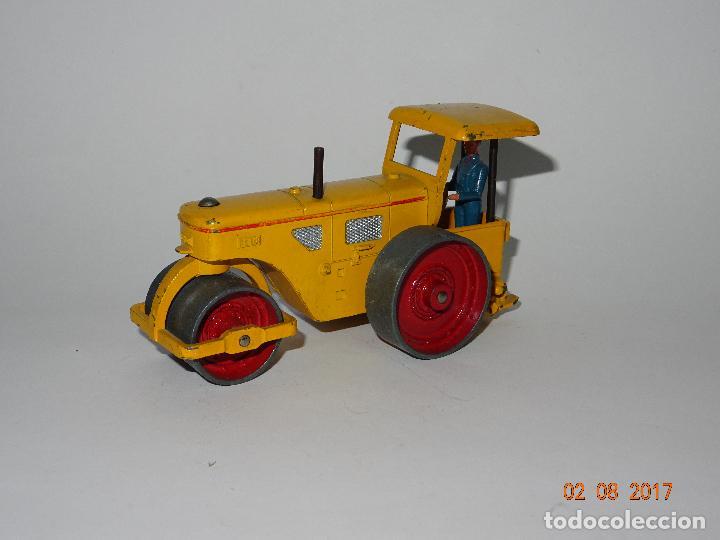ANTIGUO RODILLO APISONADORA RICHIER DE DINKY TOYS MADE IN FRANCE POR MECCANO - AÑO 1950-60S. (Juguetes - Coches a Escala 1:43 Dinky Toys)